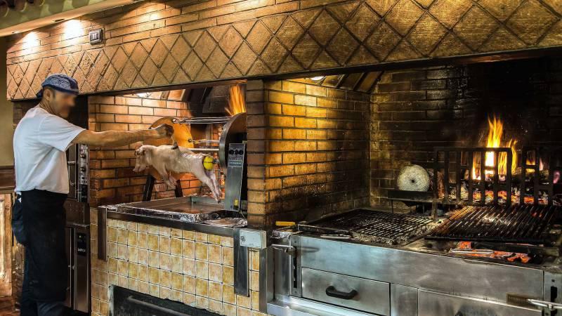 Ristorante-Pizzeria-Braceria-Pappa-Reale-Rome-oven